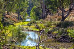 Outback at Dubbo Australia. Outback at Dubbo New South Wales Australia Stock Photo