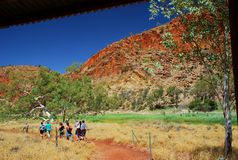 Outback exploring. Northern Territory, Australia Royalty Free Stock Images