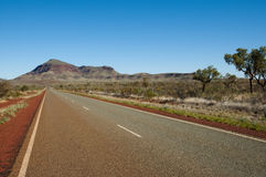 Outback Highway - Western Australia. Outback Highway in Western Australia Stock Images