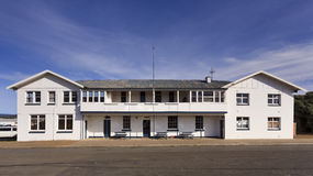 Outback Hotel White Facade Royalty Free Stock Images
