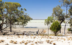 Outback Lake Royalty Free Stock Photo