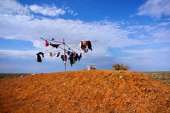Outback Laundry Stock Photography