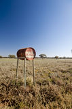 Outback mail box Stock Photography