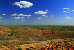 Outback meteor crater Royalty Free Stock Photography