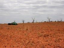 Outback naufragio fotografia stock