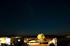 Outback nightsky Royalty Free Stock Photography