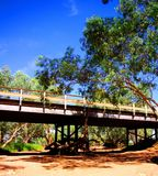 Outback NSW Dried River Royalty Free Stock Photos