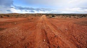 outback panorama Royaltyfri Bild