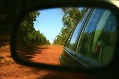 Outback pista Australia Fotografia Stock Libera da Diritti