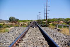 Outback Railway Royalty Free Stock Image