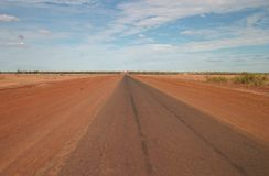 Outback Road Royalty Free Stock Photos