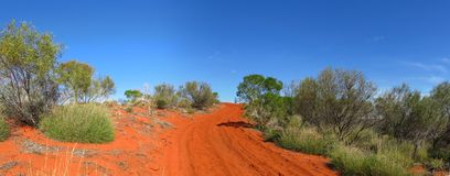 Outback road, australia Stock Photos