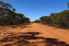 Outback road, australia Stock Images