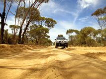 Outback road, australia Royalty Free Stock Images