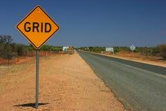 outback road sign Στοκ Φωτογραφία