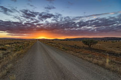 Outback Roads royalty free stock photos