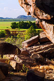 Outback rocce immagini stock libere da diritti