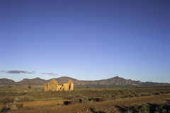 Outback Ruins Stock Image