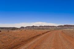 outback sandstorm Royaltyfria Bilder