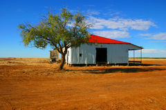 Outback shearing shed Royalty Free Stock Image