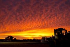 outback soluppgång Arkivfoto