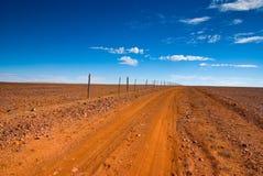 outback spår Arkivfoto