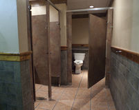 Outback Steakhouse bathroom, Fort Smith, AR Stock Image