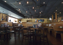 Outback Steakhouse interior, Fort Smith, AR Royalty Free Stock Photo