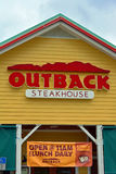 Outback Steakhouse. Restaurant in Coastal Community stock photos