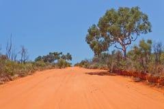 Outback strada Fotografia Stock