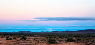 Outback Sunset Stock Photography