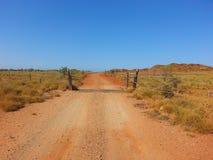 Outback track Australia stock image
