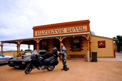 Outback Travel at Silverton Stock Photos