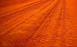 outback väg Fotografering för Bildbyråer