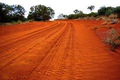 outback väg Arkivfoto