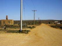 outback väg Royaltyfri Bild
