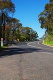 Outback väg arkivfoton