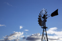 Outback Windmill Stock Photo