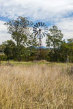 Outback windmill in Queensland, Australia Royalty Free Stock Photography