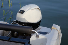 Outboard motor Royalty Free Stock Photography