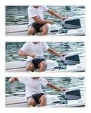 Outboard motor Stock Photos
