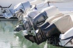 Outboard silników profili/lów widok Obraz Royalty Free