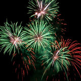 Outbreaks fireworks Royalty Free Stock Photography