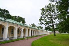 Outbuilding of Big Menshikovsky palace in Oranienbaum. Stock Photos