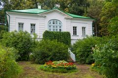Before Outbuilding of Kuzminsky Royalty Free Stock Photos