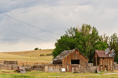 Outbuildings and More Royalty Free Stock Images