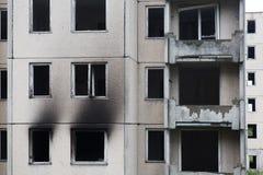 Outburnt-Haus Lizenzfreies Stockbild