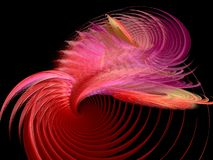 Outburst. Very colorful Apophysis abstract, great detailing and depth Royalty Free Stock Images
