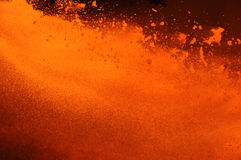 Outburst of boiling metal Royalty Free Stock Images