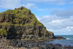 Outcrop At Giant's Causeway Royalty Free Stock Images